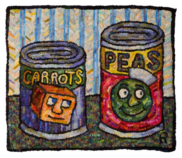 , 'Carrots and Peas,' 2013, DANESE/COREY