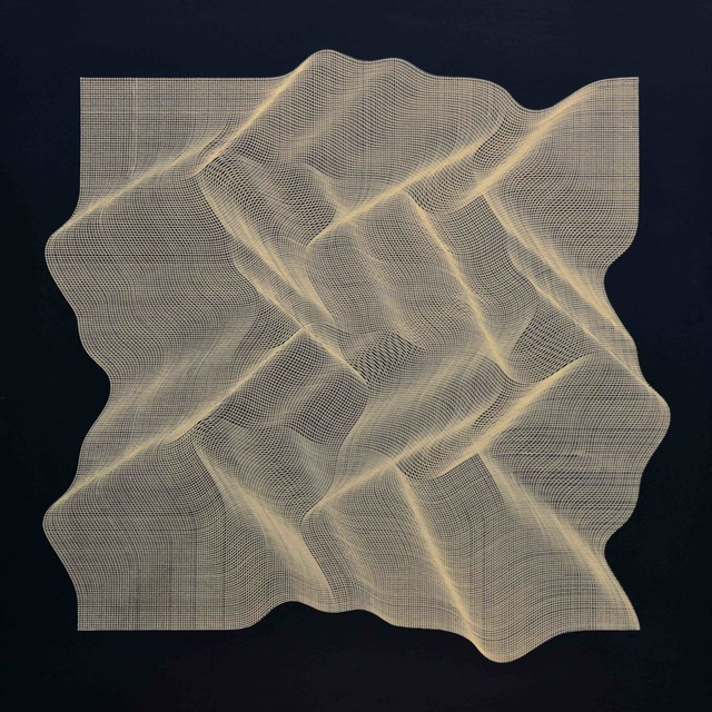 Roberto lucchetta, 'Texture Golden 2019', 2019, Contempop Gallery