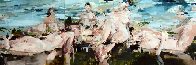 , 'Beautiful Ladies Drinking Tea in Landscape,' 2015, Dolby Chadwick Gallery