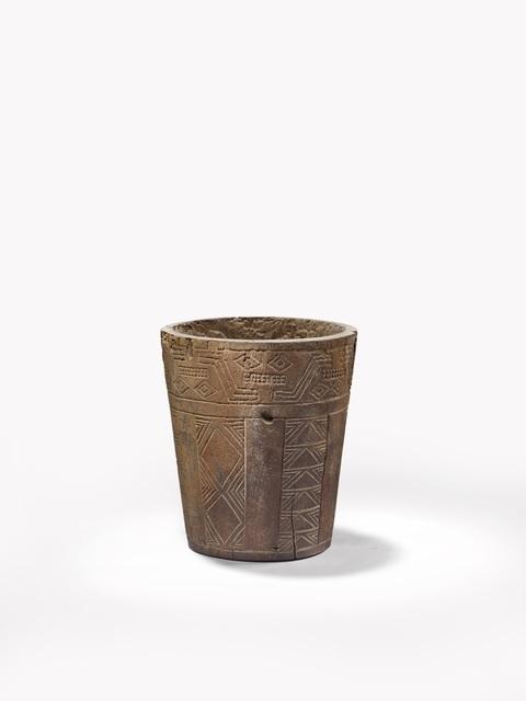'Gobelet cérémoniel (Ceremonial goblet)', Musée du quai Branly