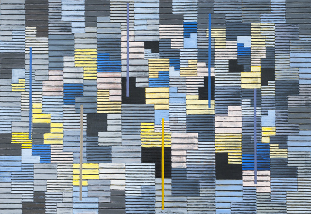 , 'Composition #80 (Controlled Energy),' 1956, Galerie Schlichtenmaier