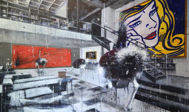 , 'Misplaced Series V: Homage to Lichtenstein,' 2015, Avant Gallery