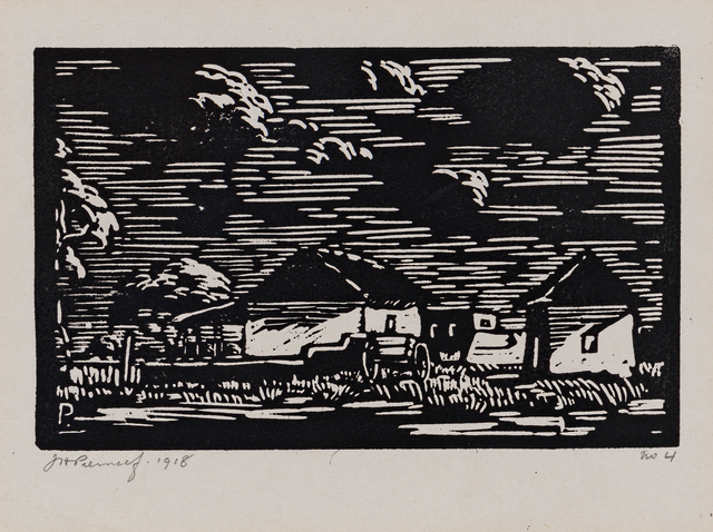 Jacob Hendrik Pierneef, 'Bewolkte Lug (Maanlig) (Nilant 53)', 1918, Strauss & Co