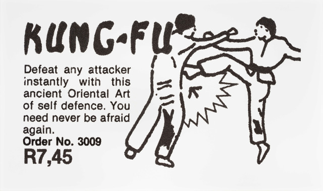 , 'Kung Fu,' 2014, Goodman Gallery