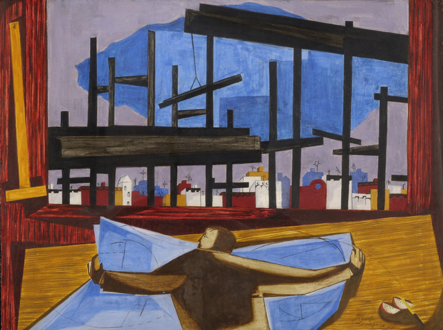 Jacob Lawrence, 'The Architect', 1959, The Studio Museum in Harlem