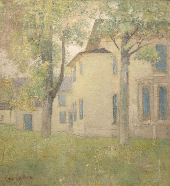 , 'House with Blue Shutters,' ca. 1925, Taylor | Graham