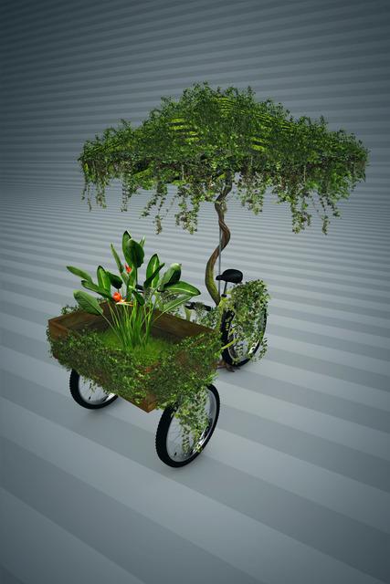, 'Bike Planta 3D,' 2018, Choque Cultural