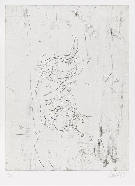 """, 'Astor, from """"Schlafende Hunde"""",' 1998-1999, Gagosian"""