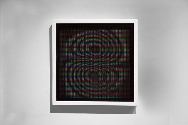 , 'Distorsiones 30,' 2015, le laboratoire