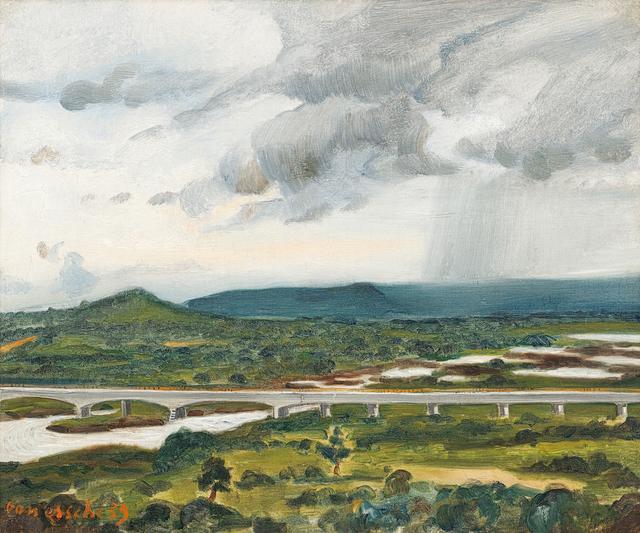 Maurice van Essche, 'Bridge over the Lualaba River, Congo', Strauss & Co