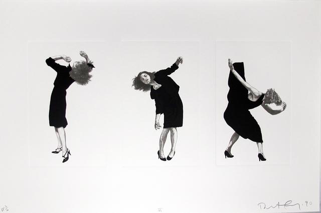 Robert Longo, 'Men in the Cities, Tokyo, Seibu Department Stores, Ltd. II (3 Women)', 1990, Hamilton-Selway Fine Art