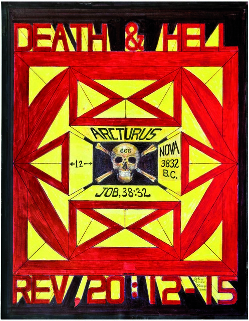 , 'untitled (Death and hell),' 2007, christian berst art brut