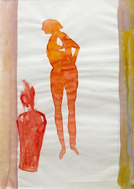 , 'Frau mit Vase (Woman with Vase),' 1996, Galerie Herold