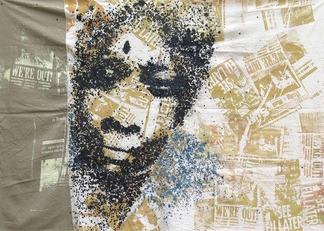 Yeanzi, 'Ange Didier dit Arafat', 2017, Galerie Cécile Fakhoury - Abidjan