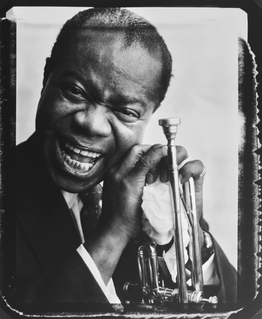, 'Louis Armstrong,' 1958, Staley-Wise Gallery