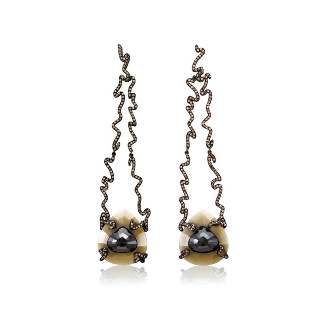 William Ehrlich, 'Zig Zag Long Drop Earrings', Jason Jacques Gallery