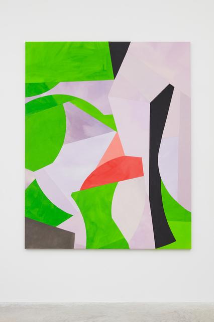 , 'Post Jacaranda (sliced),' 2019, Galerie Nordenhake