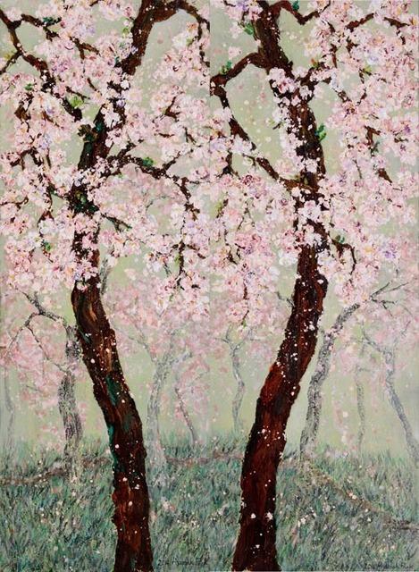 , 'Spring day afternoon 14-1~2,' 2014, Galerie Artpark Karlsruhe