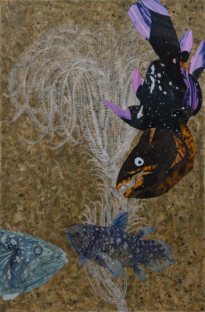 , 'Wanderers of the Abyssal Darkness.Coelacanth L1901,' 2019, Tina Keng Gallery