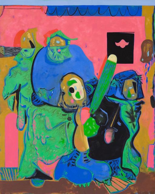 , 'Zizek Watching Television,' 2014, Galerie Richard