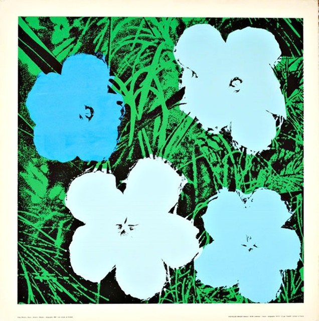 Andy Warhol, 'Flowers (Blue)', 1970, Alpha 137 Gallery Gallery Auction
