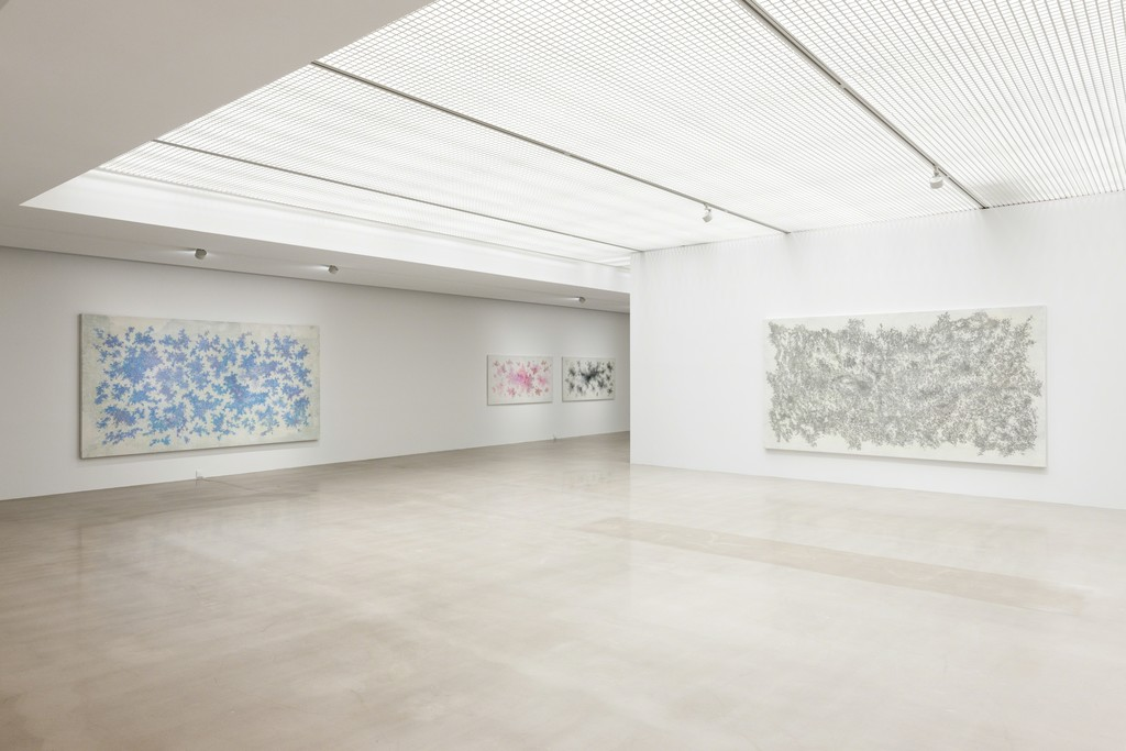 "Installation View of ""LEE Kangwook: Abstract Color and Gesture"""
