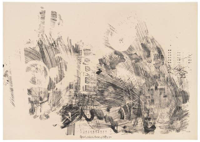 Robert Rauschenberg, 'Air Pocket (Stoned Moon)', 1970, San Francisco Museum of Modern Art (SFMOMA)