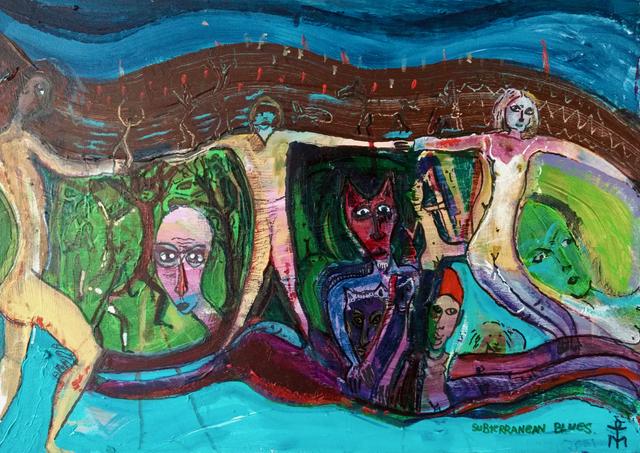 , 'Subterranean Blues,' 2019, Yebo Art Gallery
