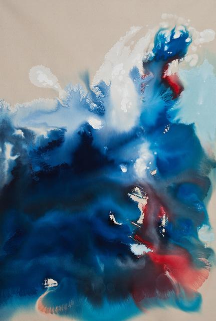 , 'Under the Wave 6 PM,' 2016, Carter Burden Gallery