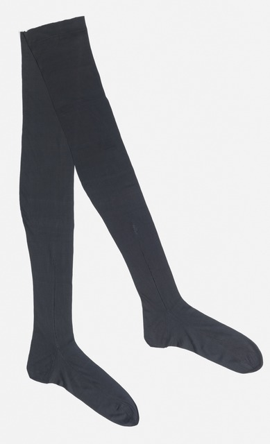 , 'Pair of stockings,' 1850-1900, Cooper Hewitt, Smithsonian Design Museum
