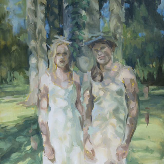 , 'Sisters,' 2017, Massey Lyuben Gallery
