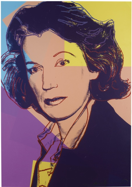 , 'Mildred Scheel (F.&S. II.238),' 1980, RUDOLF BUDJA GALLERY