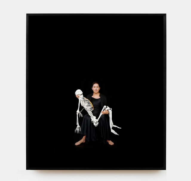 , 'Holding the Skeleton,' 2008-printed 2015, Sean Kelly Gallery