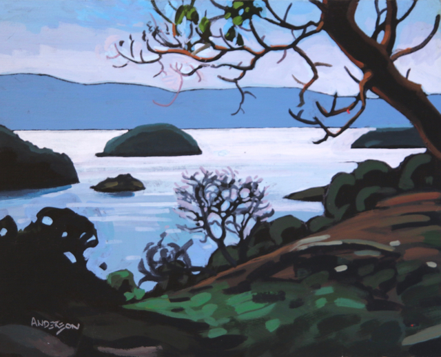 , 'Pender Harbour Arbutus ,' , Madrona Gallery