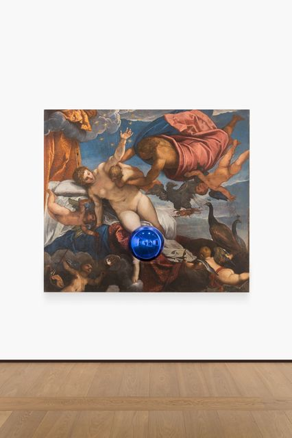 , 'Gazing Ball (Tintoretto The Origin of the Milky Way),' 2016, Almine Rech