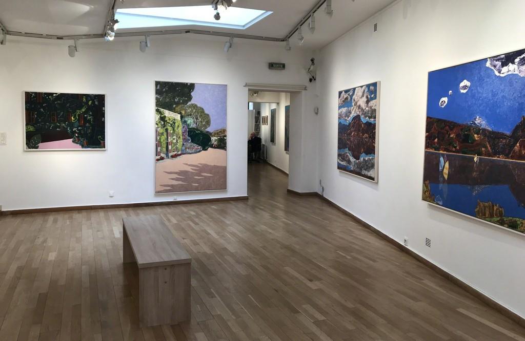 Vincent Bioulès - Au dedans et au dehors March 08, 2018 - May 12, 2018