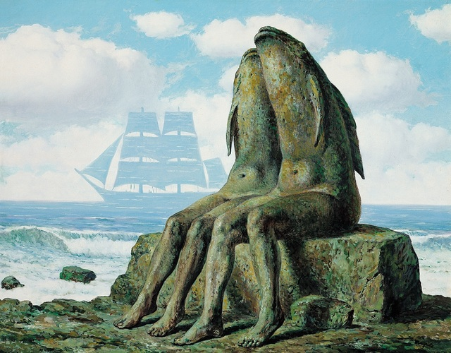 René Magritte, 'Les Merveilles de la nature', 1953, Centre Pompidou