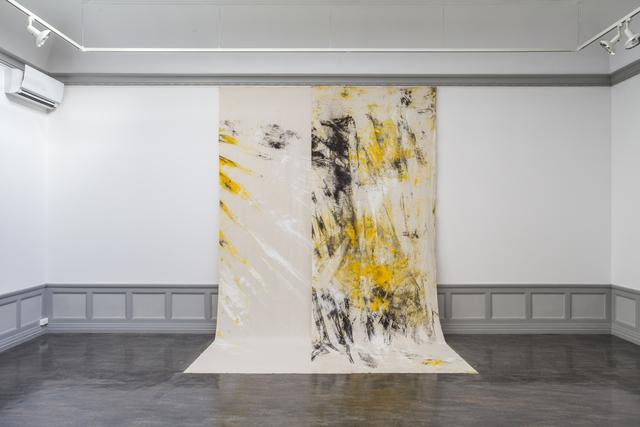 , 'Sea Painting 1,' 2016, Kunsthall Stavanger