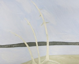 , 'three trees,' 2013, Gallery Side 2