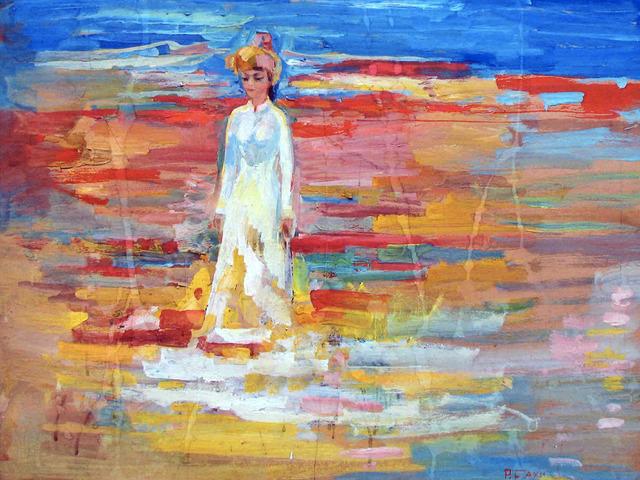 Sakhi Romanov, 'Woman in a National Costume', 1970-1989, OYANU Gallery