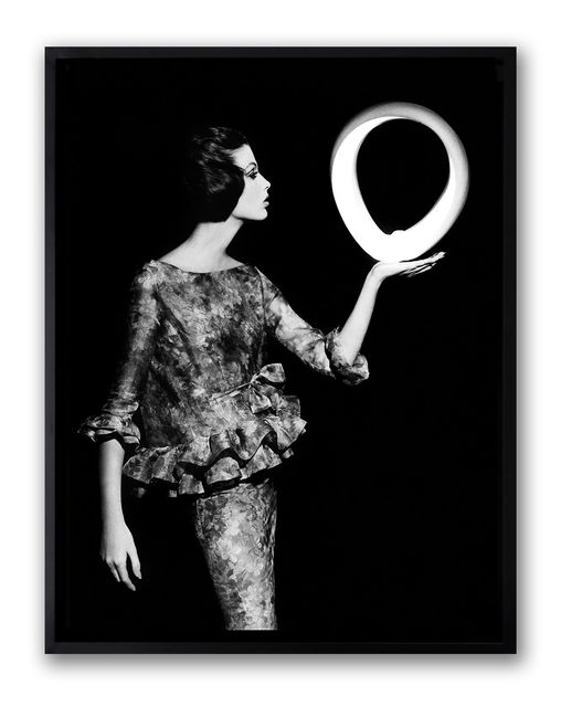 , 'Dorothy + Big White Circle, Paris,' 1962, HackelBury Fine Art
