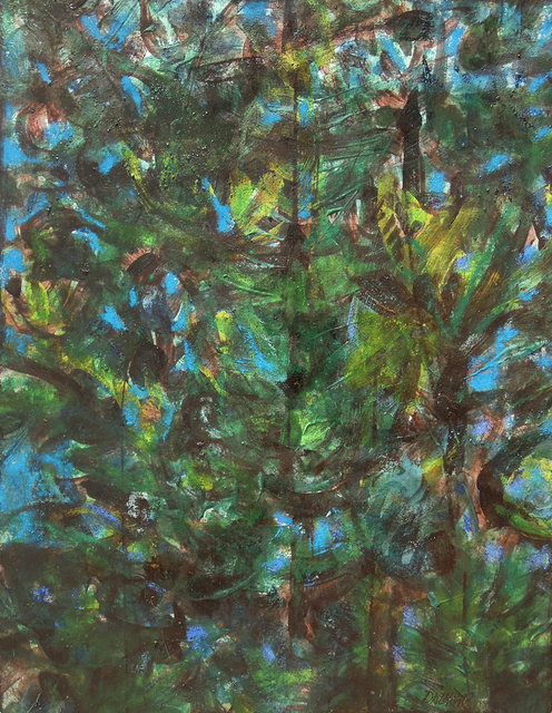 , 'Dense Forest,' 2017, Greenhut Galleries