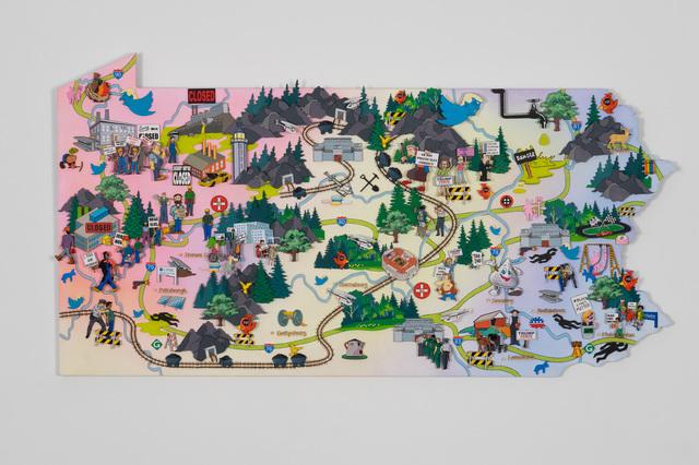 , 'Pennsylvania ,' 2019, Ronald Feldman Gallery