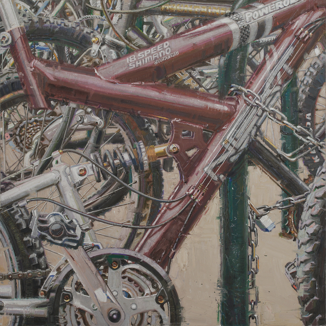 Dianne L. Massey Dunbar, 'Bicycles III', 2017, Gallery 1261