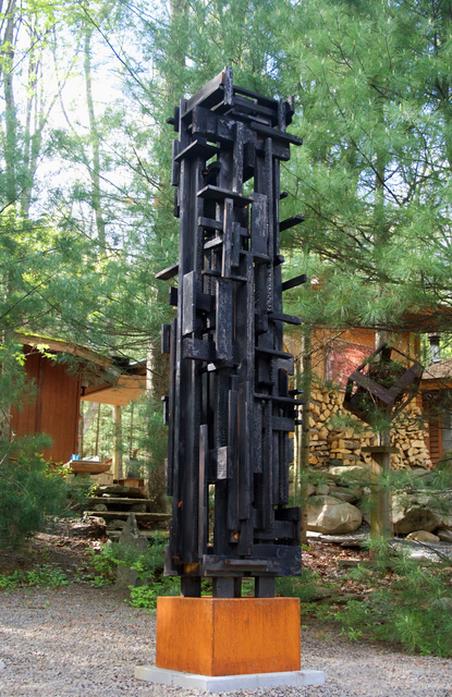 , 'Night Path Tower,' 2016, J. Cacciola Gallery