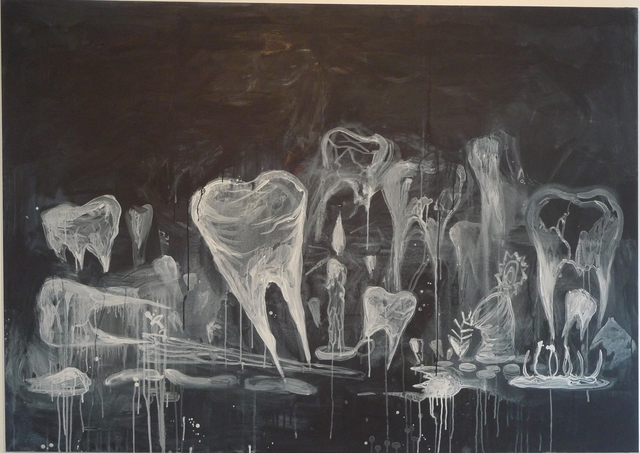 , 'Untitled (Ghost Teeth),' 2008, Galerie Nathalie Obadia