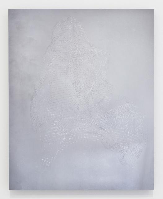 , 'Studio Study No. 3 (plastic netting),' 2017, Grant Wahlquist Gallery