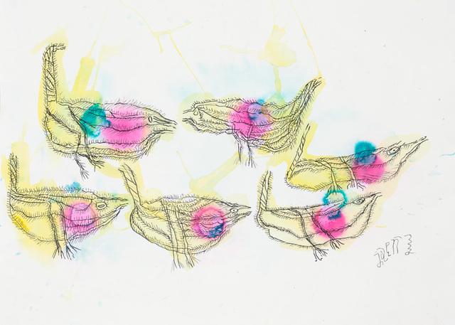 , 'Untitled (6 Pajaros),' 2013, Creativity Explored