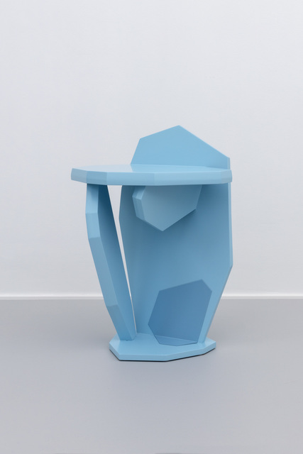 , 'Blue stool/side table,' 2019, Etage Projects