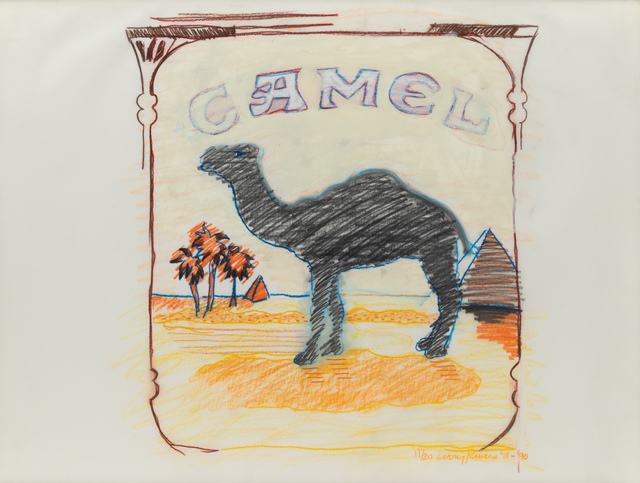Larry Rivers, 'Blue Line Camel', Hindman